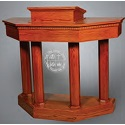Click here for more 8400 Series Pulpit w/ Plexiglas Front by Trinity by Worthington