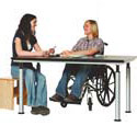 Click here for more Adjustable Height Art Table by Diversified Woodcrafts by Worthington