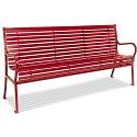 Click here for more Hamilton Horizontal Slat Outdoor Benches by UltraPlay by Worthington