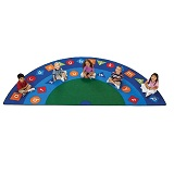 Click here for more Alpha Shapes Carpet by Carpets for Kids by Worthington