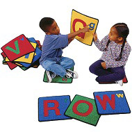 Click here for more Alphabet ValuePlus Squares by Carpets for Kids by Worthington