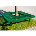 Click here for more Geometric Mall Bench by UltraPlay by Worthington