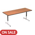 Click here for more Pedestal Leg Computer Tables by Amtab by Worthington