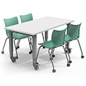 Click here for more Adjustable Dry Erase Top Planner Studio Tables by Smith System by Worthington