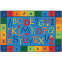 Click here for more Alphabet Around Literacy KIDSoft Rugs by Carpets for Kids by Worthington