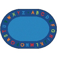 Click here for more Alphabet Circletime Rug by Carpets for Kids by Worthington