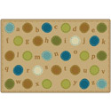 Click here for more Alphabet Dots KIDSoft Rugs by Carpets for Kids by Worthington