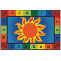 Click here for more Alphabet Sunny Day Value Rug by Carpets for Kids by Worthington