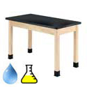 Click here for more ChemGuard Maple Science Lab Tables by Diversified by Worthington