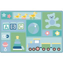 Click here for more Baby's Basics Toddler KIDSoft Rugs by Carpets for Kids by Worthington