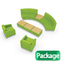 Click here for more Lounge A Modular Soft Seating Package by Mooreco by Worthington
