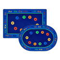 Click here for more Basic Concepts Literacy Rug by Carpets for Kids by Worthington