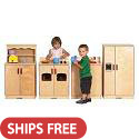 Click here for more Birch Play Kitchen by ECR4Kids by Worthington
