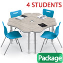 Click here for more Boomerang Desk & Hierarchy Chair Packages by Mooreco by Worthington