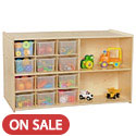 Click here for more Contender Series Double Sided Mobile Storage System by Wood Designs by Worthington