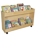 Click here for more Contender Series Mobile Book Organizer by Wood Designs by Worthington