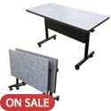 Click here for more EZ-Tilt  Mobile Tables by Amtab by Worthington