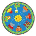 Click here for more Cutie Train Rug by Flagship Carpets by Worthington