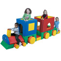 Click here for more Little Train with Caboose Soft Play Climber by the Children's Factory by Worthington
