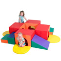 Click here for more Tunnel Labyrinth Climber by the Children's Factory by Worthington