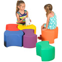 Click here for more Bowtie Soft Seating Set by The Children's Factory by Worthington