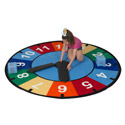 Click here for more Learning Time Game and Educational Rug by Learning Carpets by Worthington