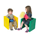 Click here for more Chair Cube Set by the Children's Factory by Worthington