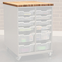 Click here for more Chameleon Hideaway Storage Cart Accessories by CEF by Worthington