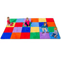 Click here for more Colorful Grid Carpet by Learning Carpets by Worthington