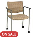 Click here for more 1310 Series Chair w/ Arms & Casters by KFI by Worthington