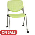 Click here for more Kool Series Mobile Stack Chair by KFI by Worthington