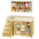 Click here for more Diaper Changer w/ Stairs and Wall Mount Organizer by Jonti-Craft by Worthington