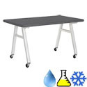 Click here for more Phenolic Resin Top A-Frame Tables by Diversified Woodcrafts by Worthington