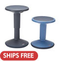 Click here for more SitWell Adjustable Stools by ECR4Kids by Worthington