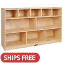 Click here for more Birch 5 + 5 Storage Cabinet by ECR4Kids by Worthington
