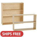 Click here for more Birch Streamline Storage Cabinets with Shelves by ECR4Kids by Worthington