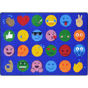 Click here for more Emoji Expressions by Joy Carpets by Worthington