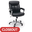 Click here for more Essentials Leather Executive Office Chair by OFM by Worthington