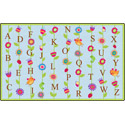 Click here for more Blooming Alphabet Carpet by Flagship Carpets by Worthington