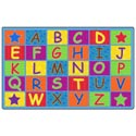 Click here for more Cheerful Alphabet Carpet by Flagship Carpets by Worthington