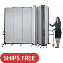 "Click here for more HeavyDuty Room Dividers (7'-4"" H) by Screenflex by Worthington"