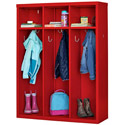 Click here for more Metal Open Front Kid's Locker by Sandusky Lee by Worthington