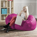 Click here for more 4' Kids Lounger Bean Bag Chair by Jaxx by Worthington