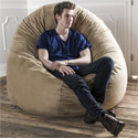 Click here for more 6' Cocoon Bean Bag Chair by Jaxx by Worthington