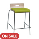 Click here for more JIVE Multi-Use Padded Counter Height Half-Back Stool by KFI by Worthington