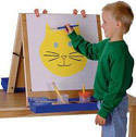 Click here for more Tabletop Easel by Jonti-Craft by Worthington