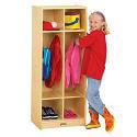 Click here for more Birch Double Locker by Jonti-Craft by Worthington