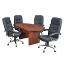 Click here for more Legacy Racetrack Conference Tables by Regency by Worthington
