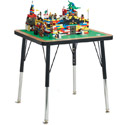 Click here for more Adjustable Brick Compatible Building Table by Jonti-Craft by Worthington