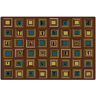Click here for more Literacy Squares - Nature by Carpets for Kids by Worthington
